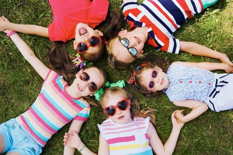 kids enjoying summer bucket list