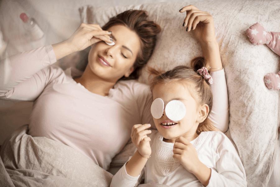 mom night routine