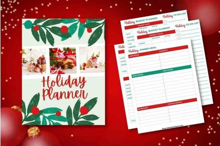 free christmas planner pdf