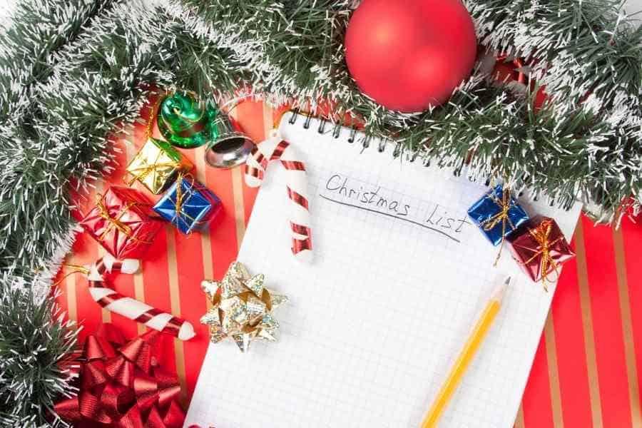 organized for christmas
