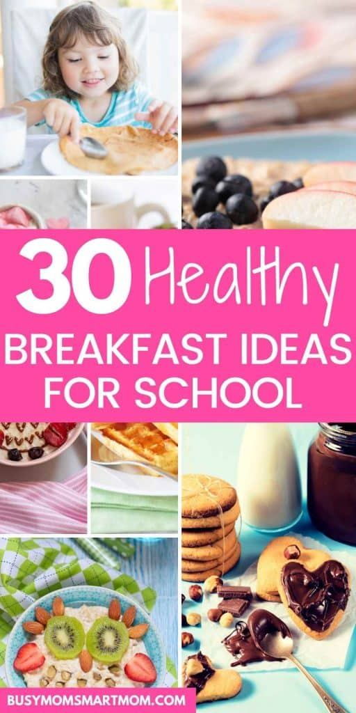healthy breakfast ideas for school quick and easy