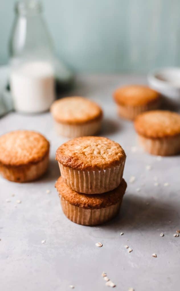 zucchini vanilla muffins