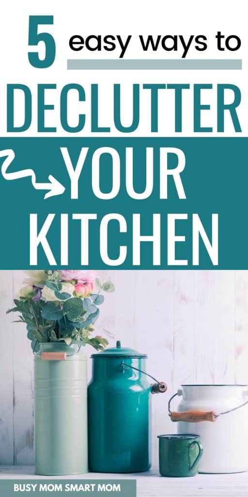 kitchen decluttering tips